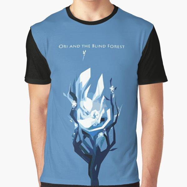 Ori Dormir - Ori et la Volonté des Marches - Dans la Forêt Aveugle T-shirt graphique