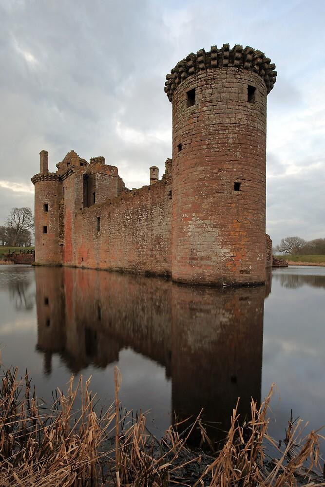 Caerlaverock Castle by Grant Glendinning