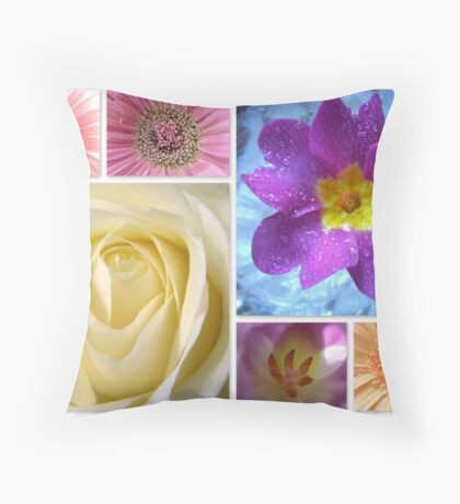 Spring is here! featured in The World As We See It or as we missed it. Throw Pillow