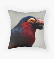 Black Beard the Pirate, Err...Bird. Throw Pillow