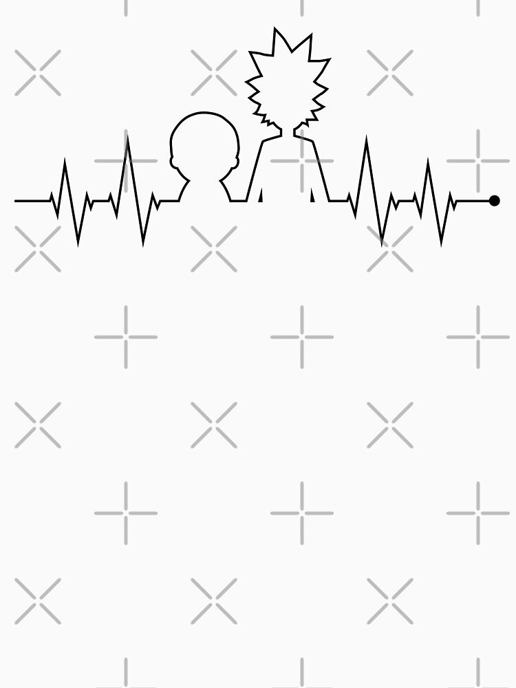 Rick and Morty Heartbeat by cartoonice