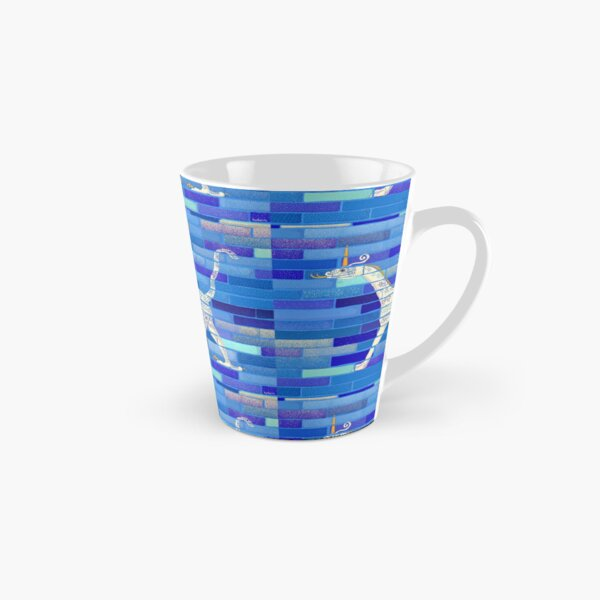 Snake-headed dragon illustration from Babylon Ishtar Gate for history lovers, archeology enthusiasts, or dragons and unicorns fans Tall Mug