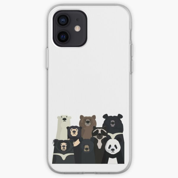 Bears of the world iPhone Soft Case