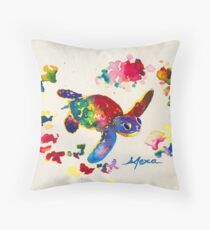 Inky Wings Hatchling Throw Pillow