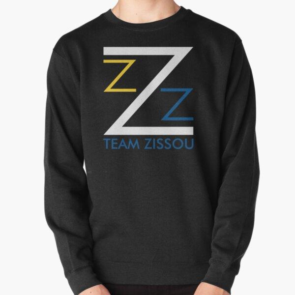 'TEAM ZISSOU' Pullover Sweatshirt by fiberdorm