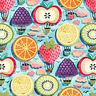 Fruity Hot Air Balloons  by TigaTiga