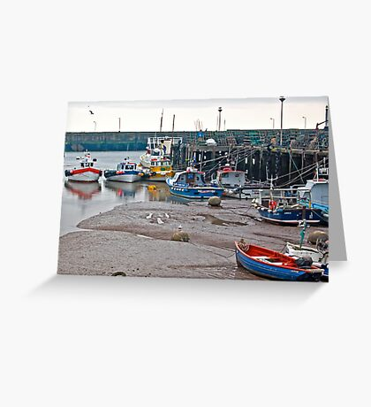 Awaiting The Evening Tide. Greeting Card
