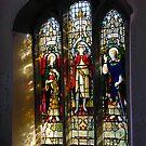 Gidleigh Church Window by SWEEPER
