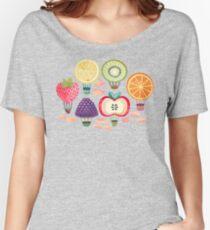 Fruity Hot Air Balloons  Relaxed Fit T-Shirt