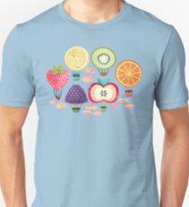 Fruity Hot Air Balloons  Slim Fit T-Shirt