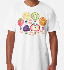 Fruity Hot Air Balloons  Long T-Shirt