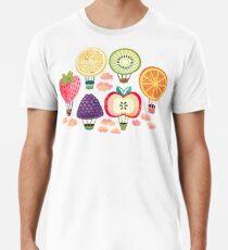 Fruity Hot Air Balloons  Premium T-Shirt