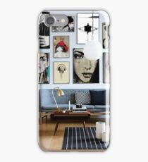 prints from my folio in a room iPhone Case/Skin