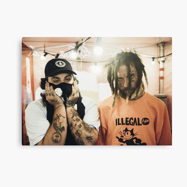 $ uicideboy $ (suicideboys) sorprendió a Soundcloud con su música pesada Lienzo