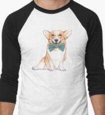 Corgi Dog Men's Baseball ¾ T-Shirt