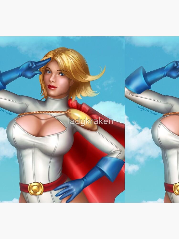 Superhero Salute by ladykraken