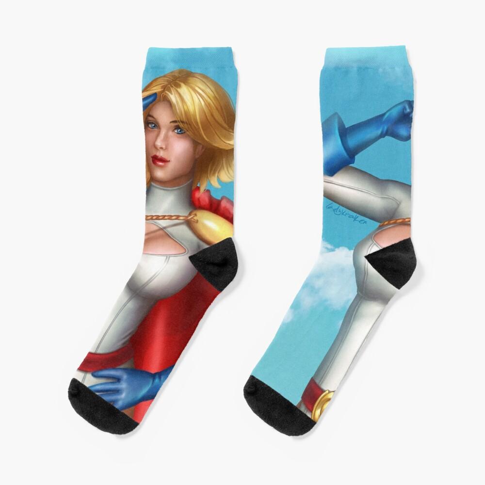 Superhero Salute Socks