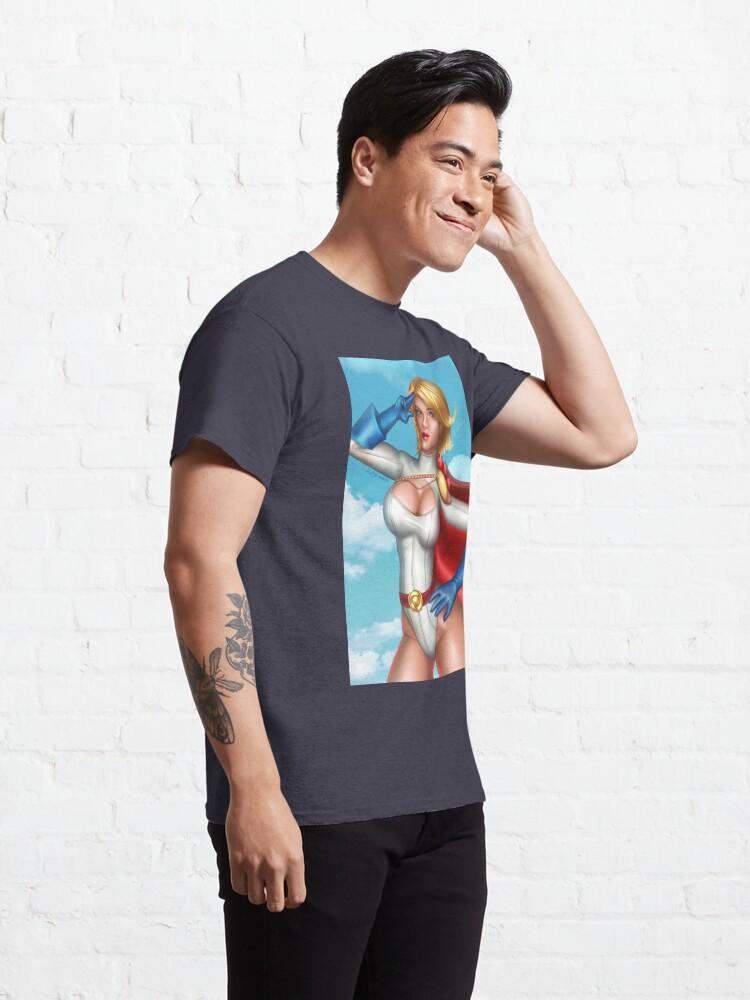 Alternate view of Superhero Salute Classic T-Shirt