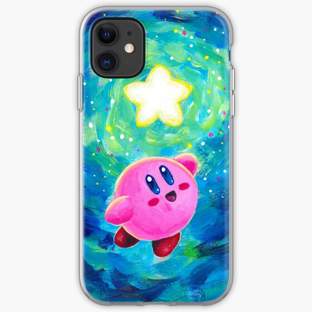 Kirby Star Funda y vinilo para iPhone