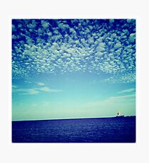 Bubbles and bubbles of clouds Photographic Print