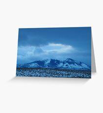 Ironside Mountain Blues Greeting Card