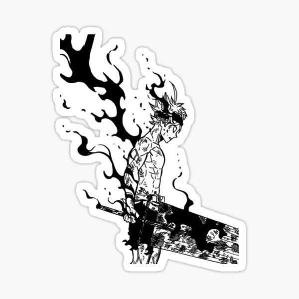 black clover Sticker