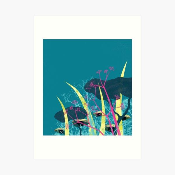 la foresta di circe Art Print