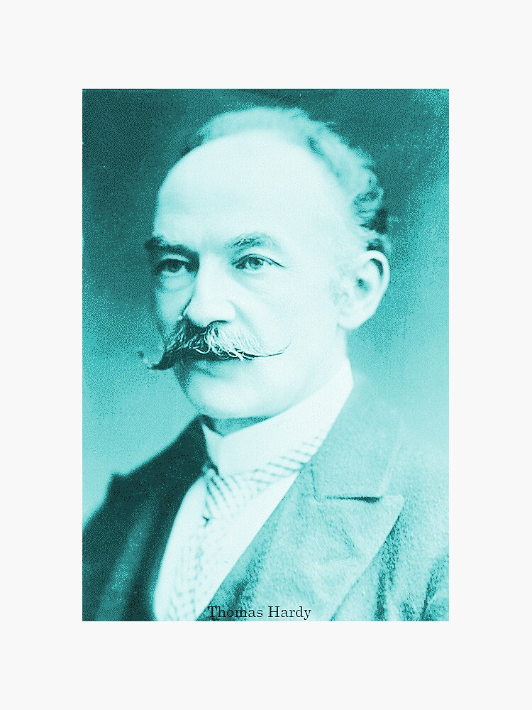 Thomas Hardy, English novelist and poet. by dplrjl