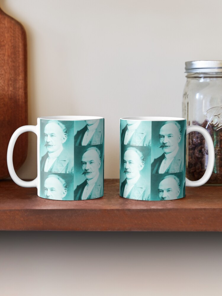 Alternate view of Thomas Hardy, English novelist and poet. Mug