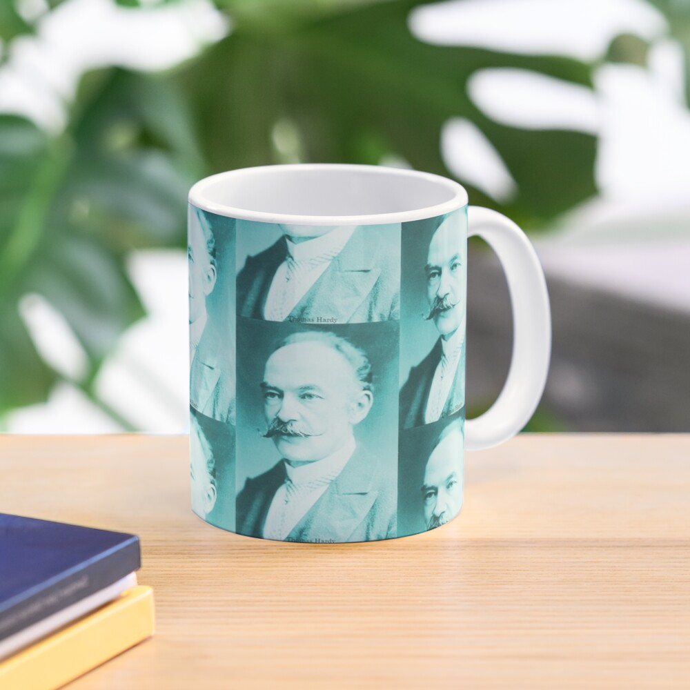 Thomas Hardy, English novelist and poet. Mug