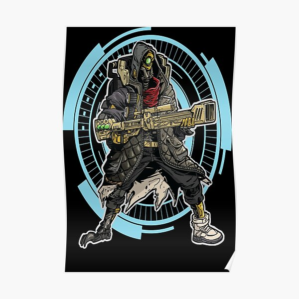 FL4K The Beastmaster Borderlands 3 Rakk Attack! Poster