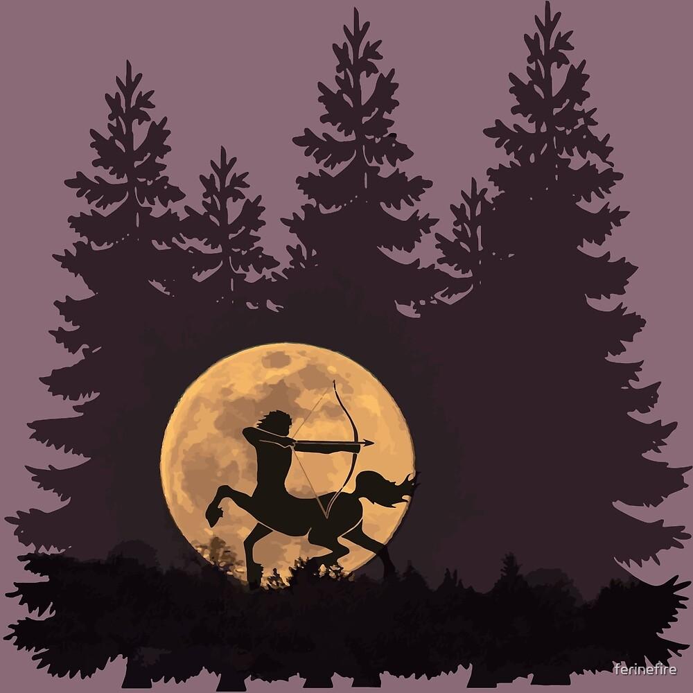 Hunter's Moon by ferinefire