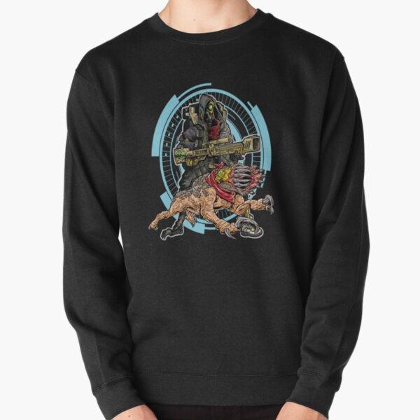 FL4K The Beastmaster With Guard Skag Borderlands 3 Rakk Attack! Pullover Sweatshirt