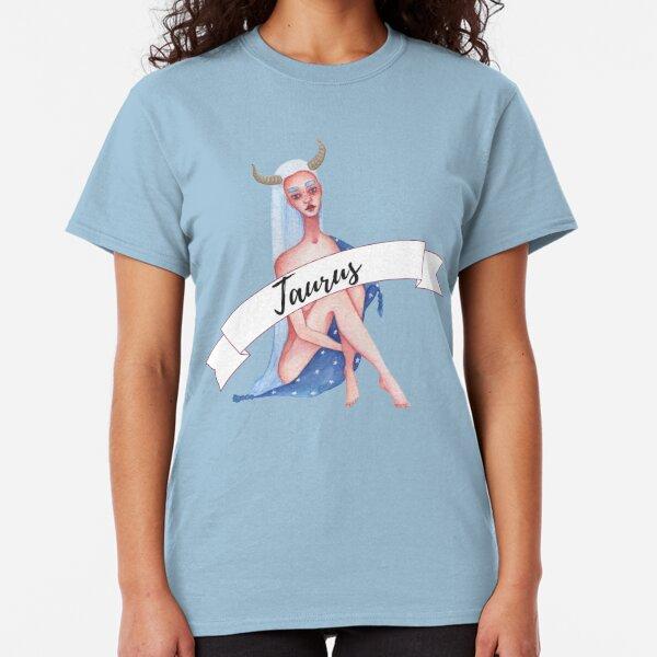Taurus Birthday Gift, Taurus Zodiac Classic T-Shirt