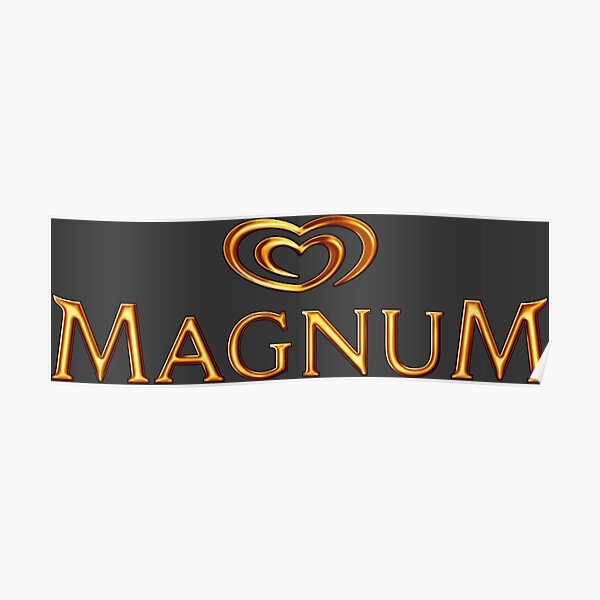 Magnum Ice Posters Redbubble