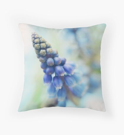 Fairy bells announcing springtime Throw Pillow