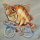 Boarfish On A Bicycle by Ellen Marcus