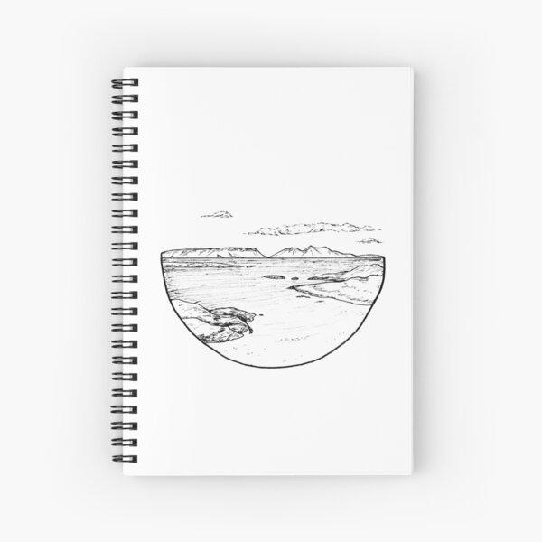 Camusdarach Beach, Scotland Spiral Notebook