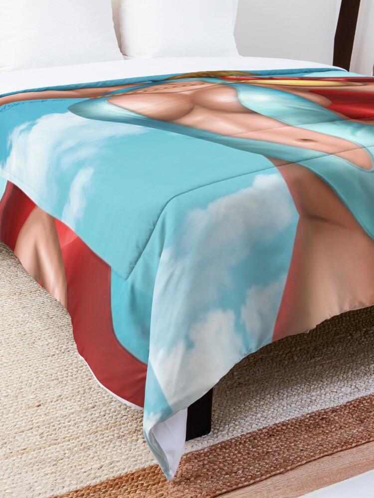 Alternate view of Superhero Bikini Comforter