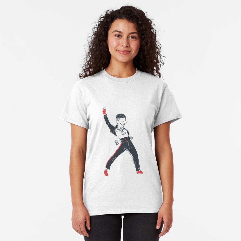 Los Angeles Style Salsa Dancer Camiseta clásica