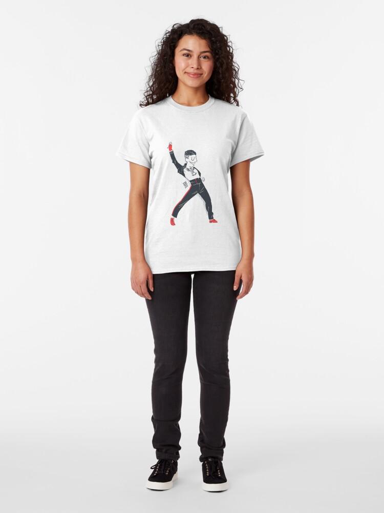 Vista alternativa de Camiseta clásica Los Angeles Style Salsa Dancer