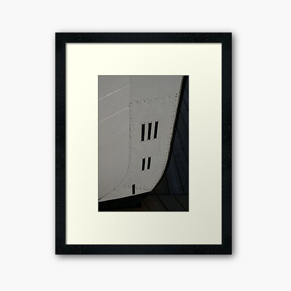 Come Hull Or High Water Framed Art Print
