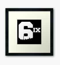The 6ix Framed Print