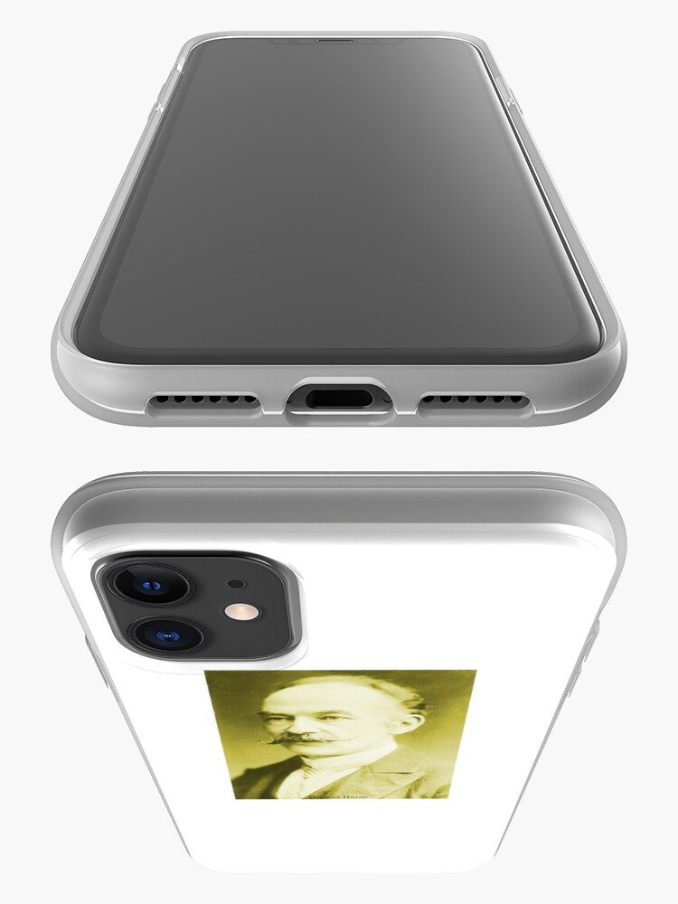 Alternate view of Thomas Hardy OM, English novelist and poet. iPhone Case & Cover