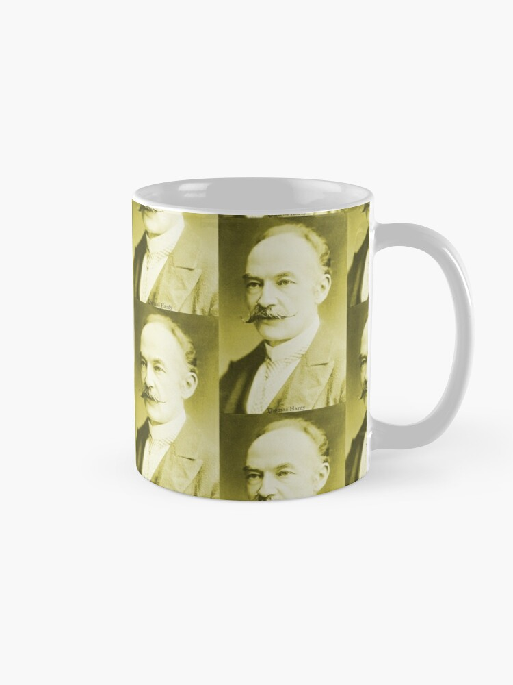 Alternate view of Thomas Hardy OM, English novelist and poet. Mug