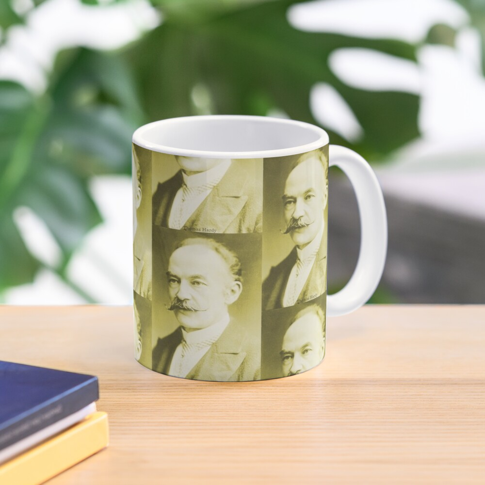 Thomas Hardy OM, English novelist and poet. Mug