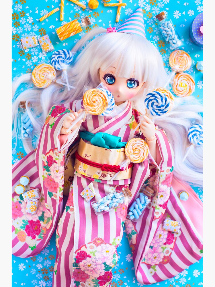 Kimono and lollipops · Nebula by orchiddolls