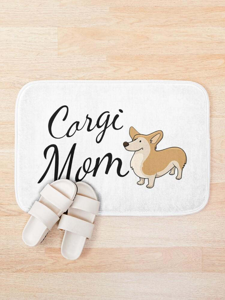 Alternate view of Corgi Mom Bath Mat