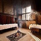 Medieval House - Interior by Leon Ritchie