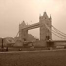 Tower Bridge Sepia by Hucksty